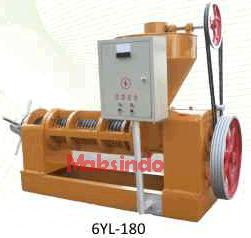 mesin pemeras minyak biji-bijian