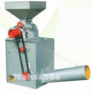 mesin pengupas padi sistim roll karet